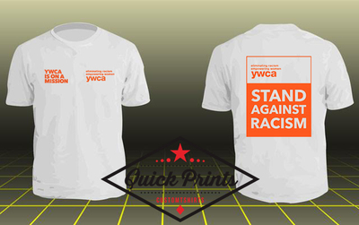 YWCA Stand Against Racism T-shirt